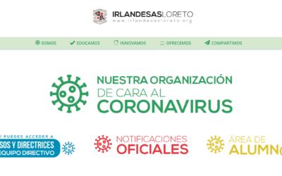 Nuevas Instrucciones sobre organización y funcionamiento del colegio debidas al COVID-19