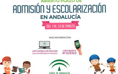 Escolarización – Proceso de admisión de alumnado